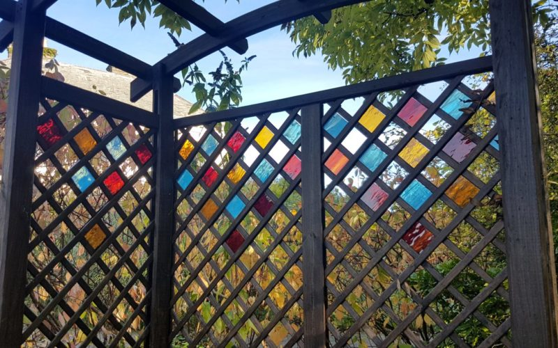 Stained Glass Arbour Pattern